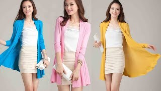 Women Long Knitted Cardigans Coat Sweater Review | Best Cardigan For Women Fashion 2018