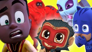 NEW Ultimate Heroes and Villains! ⭐️ NEW CHARACTERS 2020 ⭐️ HD | PJ Masks Official