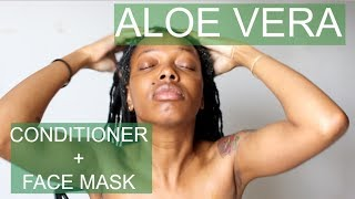 ALOE HAIR CONDITIONING + FACE MASK