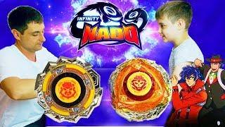 ИНФИНИТИ НАДО БИТВА БОЕВОГО МЕДВЕДЯ И БОЕВОГО БУДДЫ Infinity Nado Buddha Warriors VS Blast Flame thumbnail