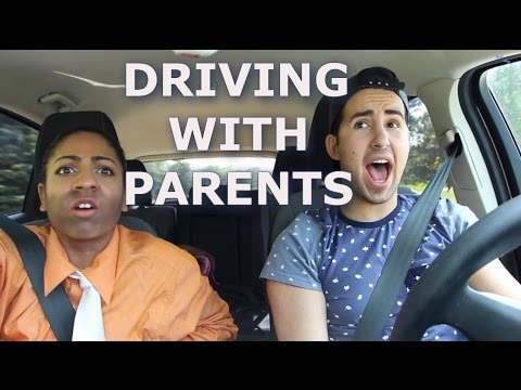 DRIVING WITH PARENTS | DanAndRiya