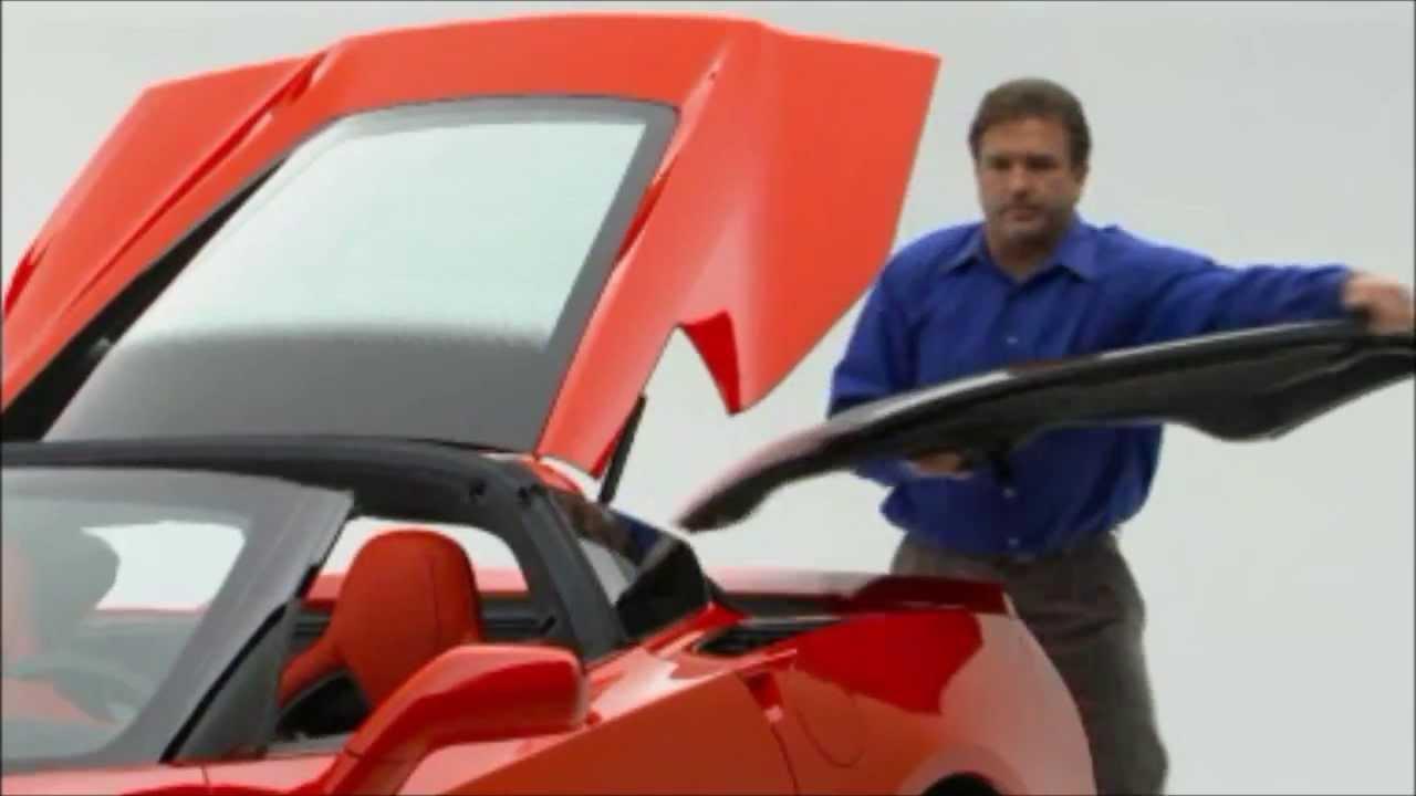 Graffguru 2014 Stingray Corvette Roof Panel Removal Youtube