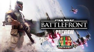 Star Wars Battlefront Beta Preview