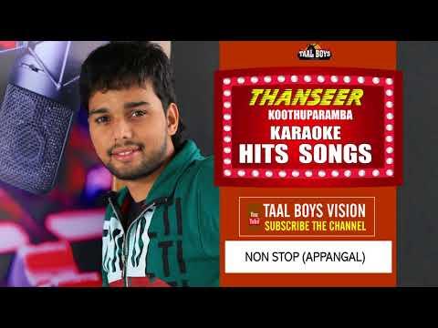 NONSTOP appakal  karoke Karoke  Malayalam Mappila Album Song  Thanseer Koothuparamba