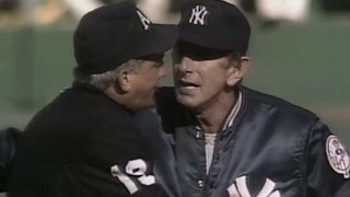 NYY@OAK: Billy Martin gets ejected from the game