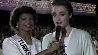 Miss Universe 1989 - Panel of Judges Introduction