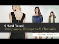 9 Hand Picked Jumpsuits, Rompers & Overalls By Guess, Winter 2017