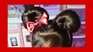 Orejitas De Minnie Mouse /Minnie Mouse Buns