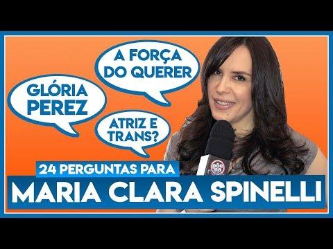 """24 perguntas para: MARIA CLARA SPINELLI (Mira de """"A Força do Querer"""") - Põe Na Roda"""
