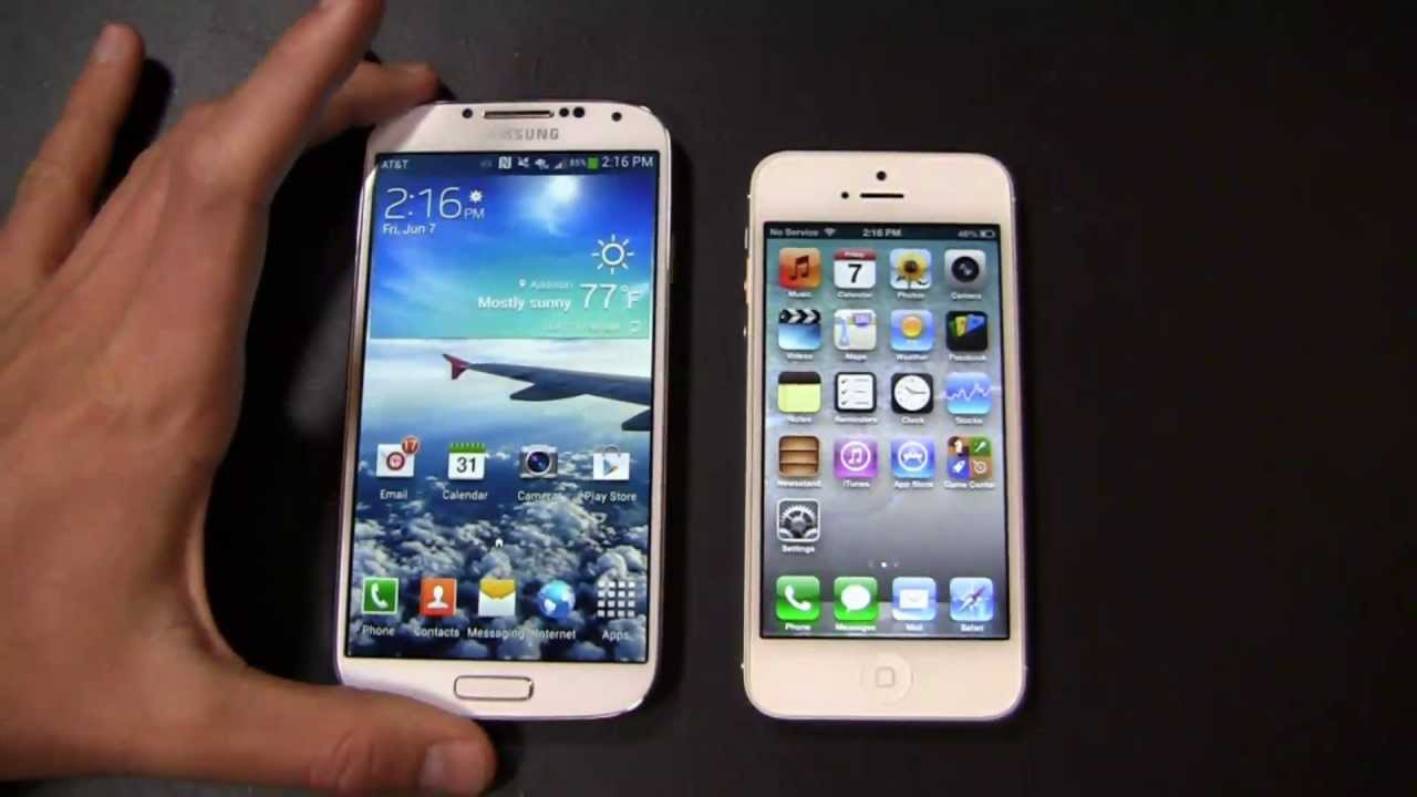 iPhone LTE vs iPhone 5