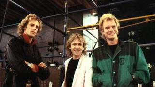 The Police - Spirits In The Material World Tour Rehearsal 1983