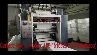 Simple Cheap Low Cost Tissue Paper Converting Machines Line