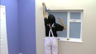 How To Wallpaper Around A Window | Wallpapering Tips | Homebase