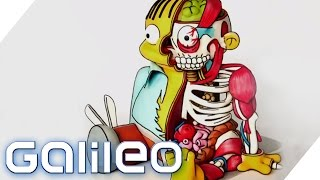 Spektakuläres Backen: 3D Comic Torten | Galileo Lunch Break