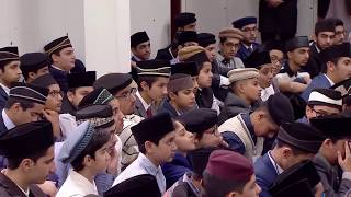 Gulshan-e-Waqf-e-Nau Atfal  : Classe avec les enfants  - 09 Dec 2017