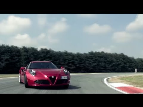 Alfa Romeo 4C: onboard in pista a Balocco - gentemotori.it