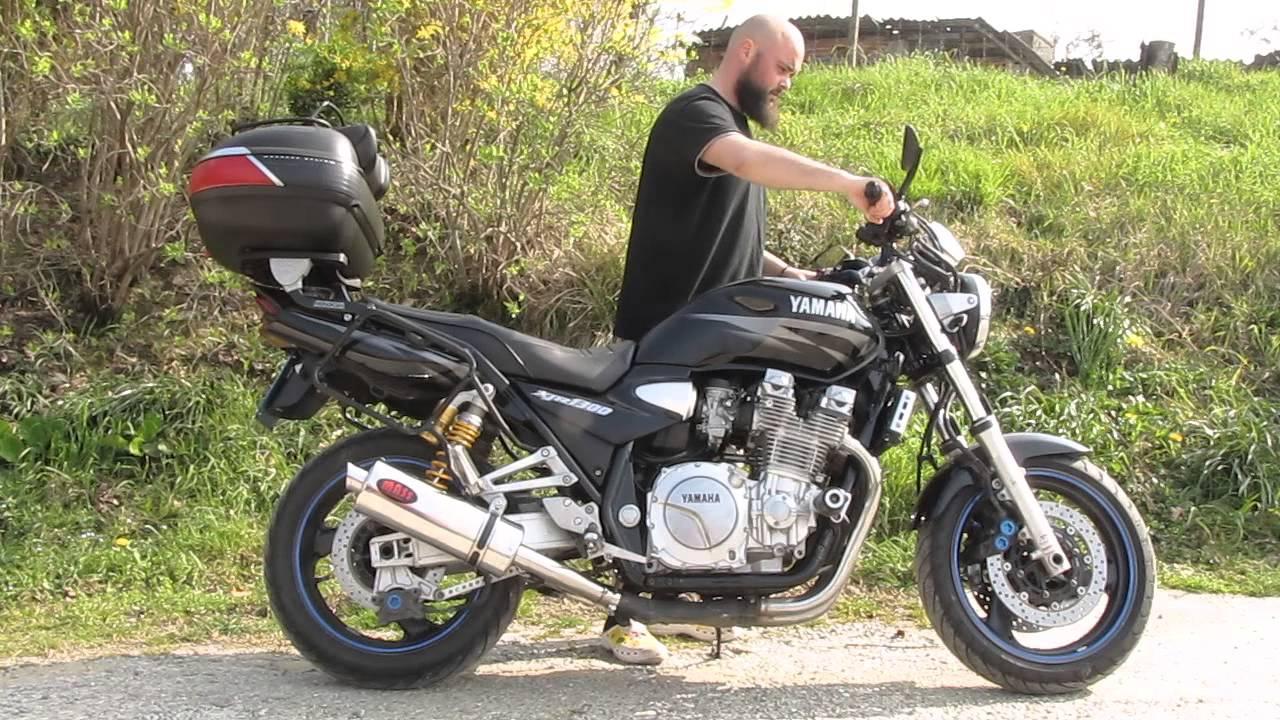 Yamaha XJR 1300 ( 2003 ) Mass exhaust - YouTube