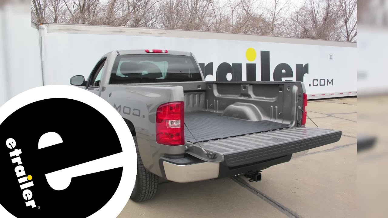 Etrailer Deezee Heavyweight Truck Bed Mat Installation