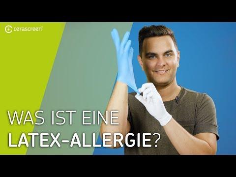 Was passiert bei einer Latex-Allergie? | Latex-Allergie: Symptome und Tipps