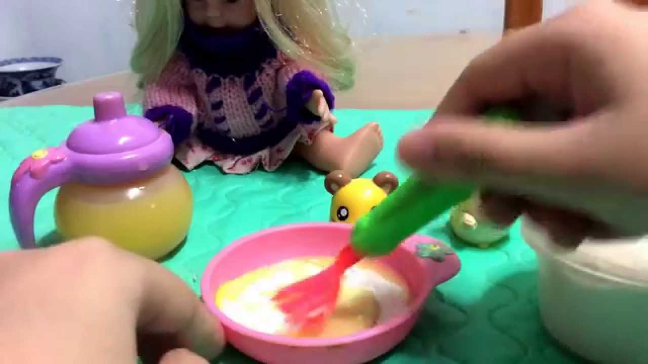 How To Make Baby Alive Corn Soup With Flour Baby Alive