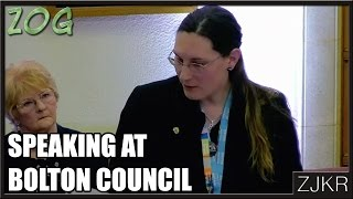 Speaking At Bolton Council - The Zog #222