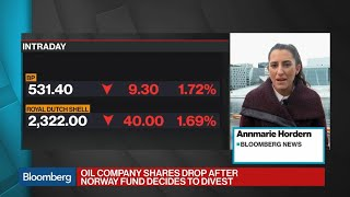 Norway Drops Upstream Oil Companies From Wealth Fund