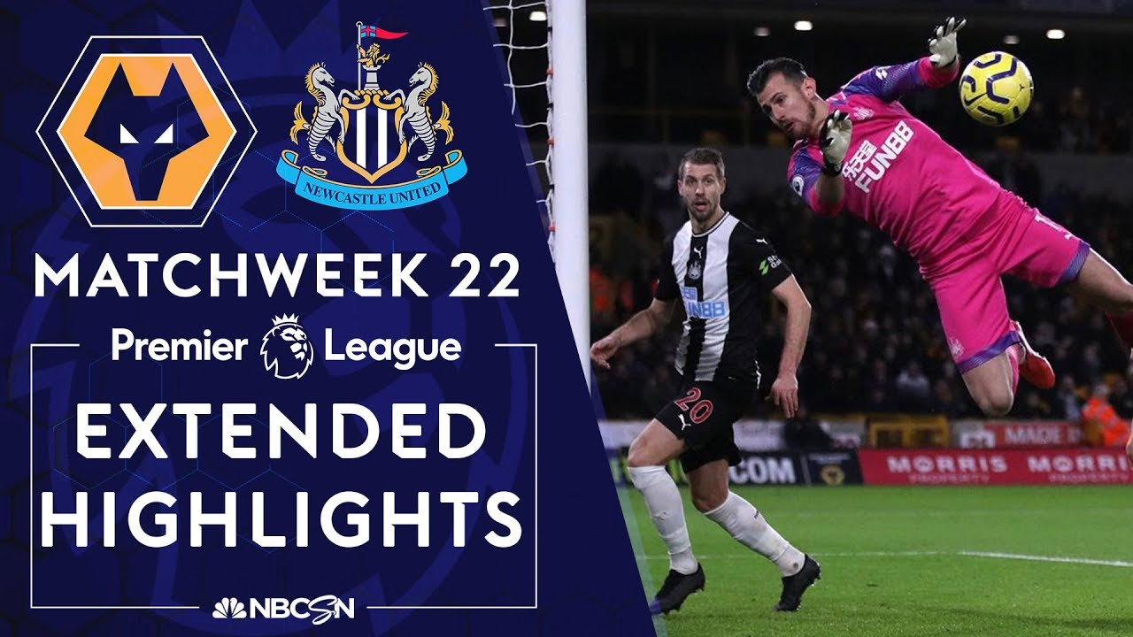Wolves v. Newcastle United | PREMIER LEAGUE HIGHLIGHTS | 1/11/2020 | NBC Sports