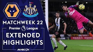 Wolves v Newcastle United  PREMIER LEAGUE HIGHLIGHTS  1112020  NBC Sports