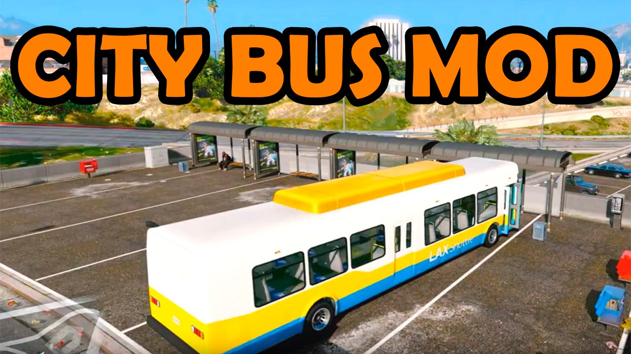 CITY BUS MOD GTA DOWNLOAD LINK YouTube - Minecraft bus spiele