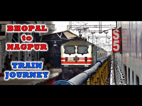 BHOPAL to NAGPUR Journey | TAMIL NADU Express | Indian Railways