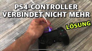 PS4 Controller verbindet sich nicht mehr mit PlayStation - LÖSUNG ( Controller mit PS4 verbinden)