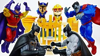 Batman Became A Monster~! Go And Help Him Paw Patrol~! #ToyMartTV