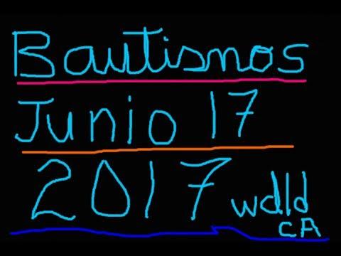 Bautismos 2017 Woodland Ca