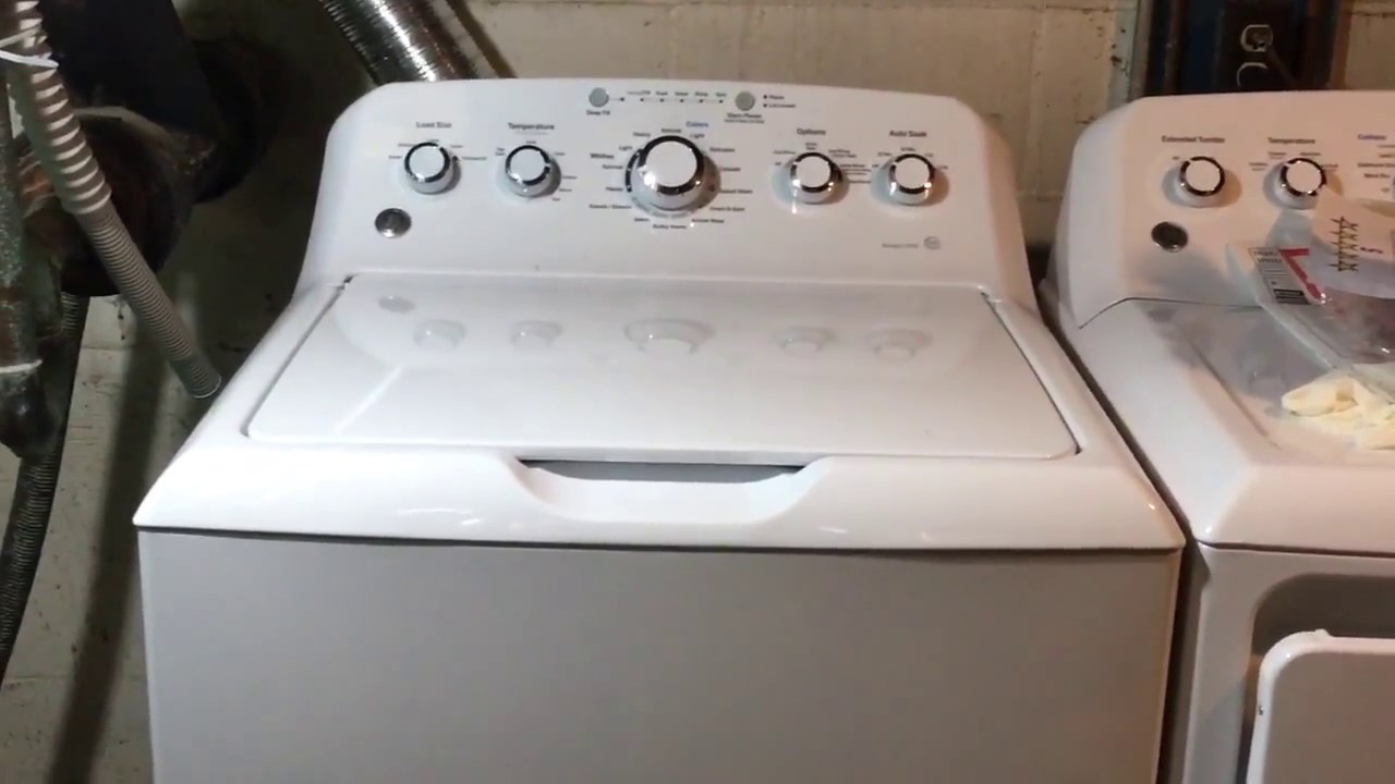 New Ge Washer Product Review Model Gtw460asjww Youtube