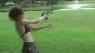 Girl Nearly Killed By Desert Eagle Recoil