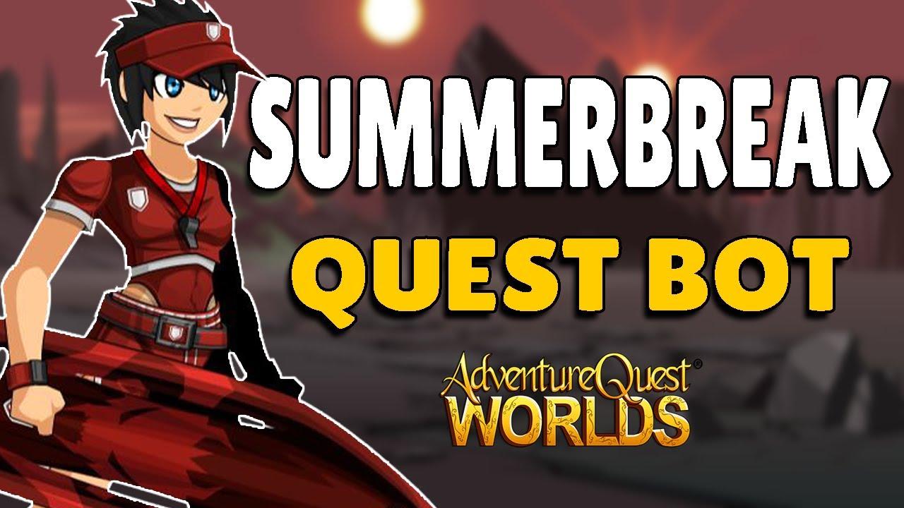 AQW - SUMMERBREAK Quests Bot | Grimoire 3.8+