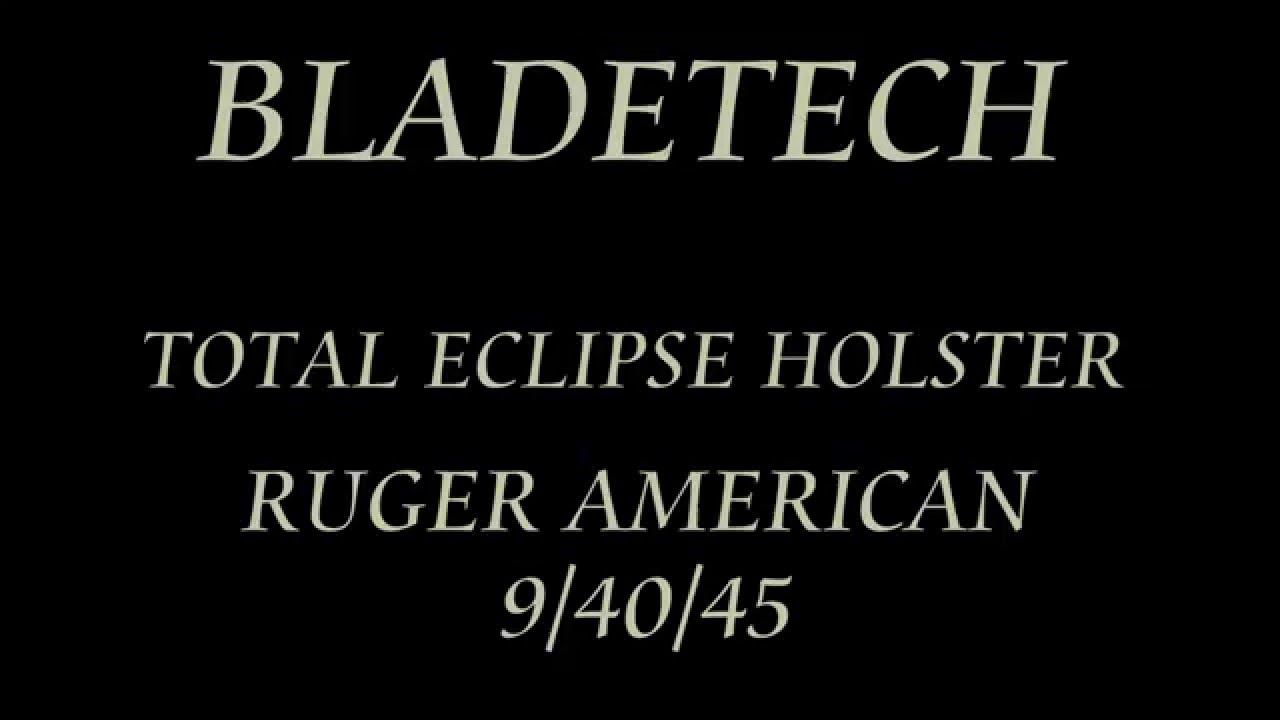 Ruger American 45 Holster