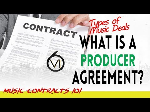 Ep. 84 - What is A Producer Agreement?