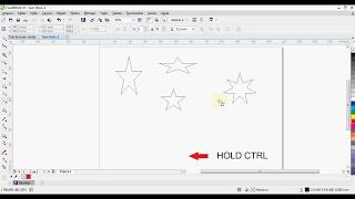 [QUICK TUTORIAL] How to draw a star in Corel Draw X7