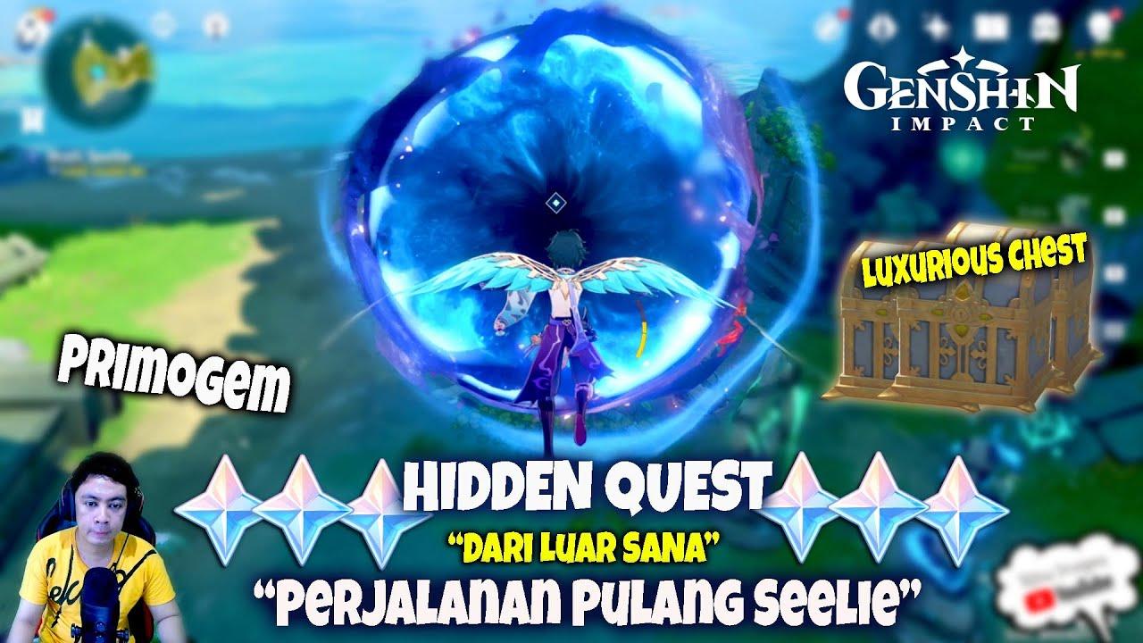 "HIDDEN Quest - ""Perjalanan Pulang Seelie"" &  ""Dari Luar Sana"" - Genshin Impact"