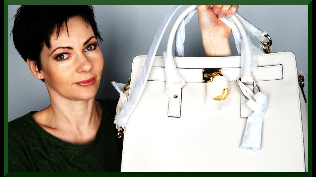 michael kors hamilton bag tasche satchel shopper deutsch unboxing review youtube. Black Bedroom Furniture Sets. Home Design Ideas