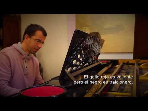Gallo rojo, gallo negro - Chicho Sánchez Ferlosio - Versión piano (con letra)