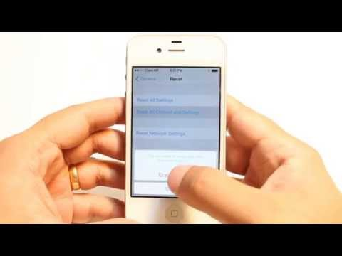 Hard Factory Reset To Iphone 4s 5s Plus