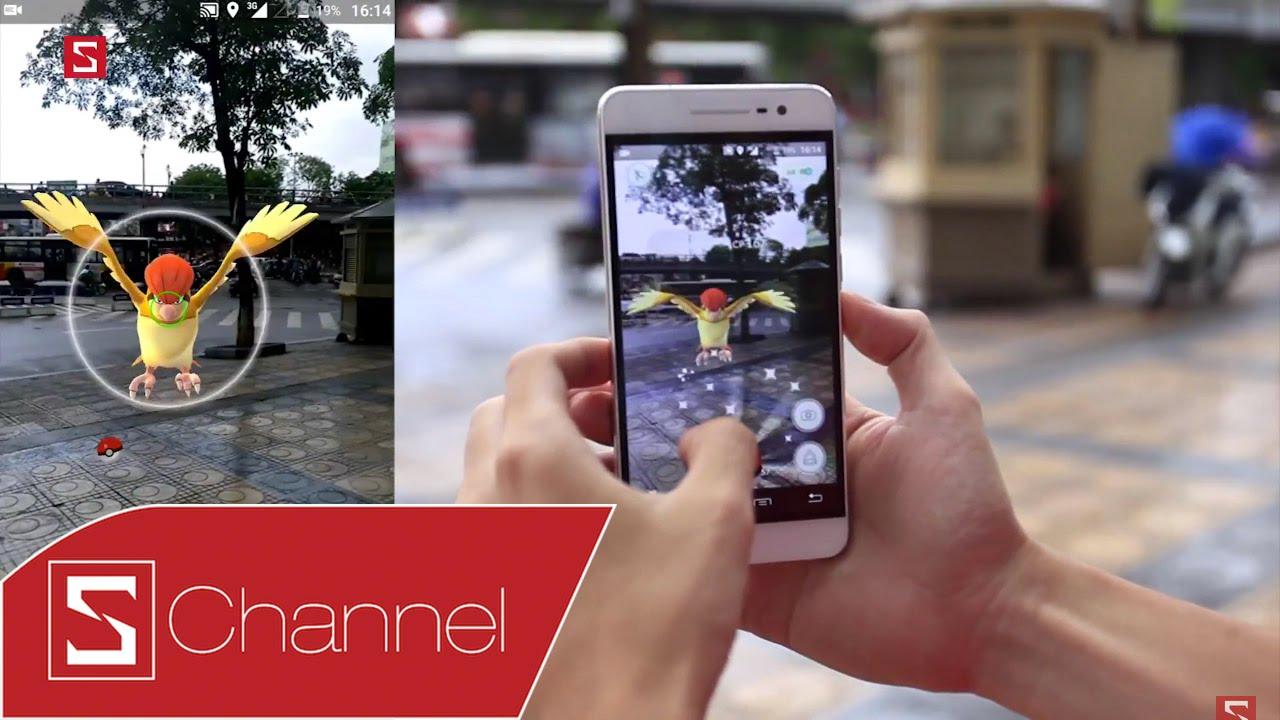 Schannel – Thực tế ra đường bắt Pokemon Go – Những tình huống cười ra nước mắt
