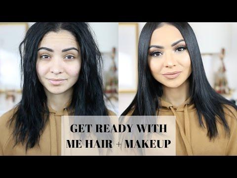 Getting Ready HAIR & MAKEUP | Diana Saldana