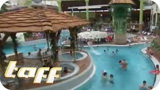 Repeat youtube video RASANTE LOOPING-RUTSCHE – Erlebnisbad Aqualand | taff | ProSieben