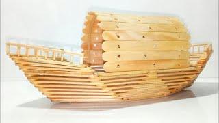 DIY! USEFUL DIY IDEAS Make an Elastic Band Paddle Boat