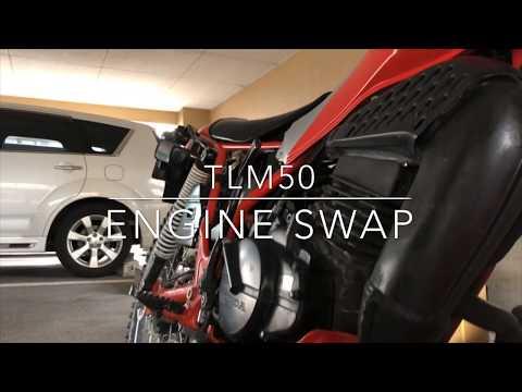 Honda TLM50 Engine Swap