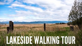 Montana Living   Walking Driving Tour Lakeside, Somers, Lower Valley