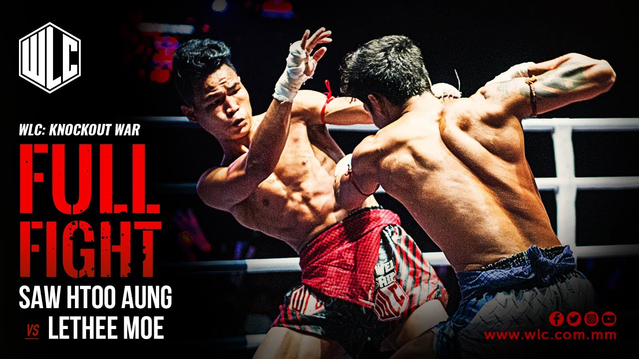 Saw Htoo Aung Vs Lethee Moe | Full Fight | WLC: Knockout War | Lethwei | Bareknuckle Fight